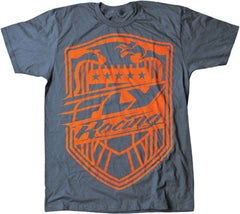 Fly Racing Squad Mens T-Shirt - Grey