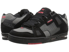 Globe Sabre Skateboard Shoes - Black/Shadow/Red