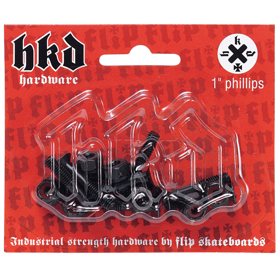 Flip HKD Phillips Skateboard Mounting Hardware - 7/8""