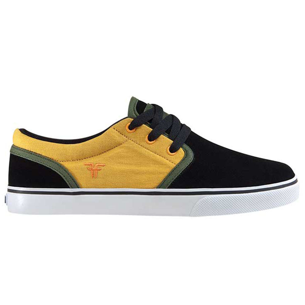 Fallen The Easy - Black/Galaxy Yellow - Men's Shoes