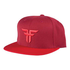 Fallen Trademark Starter Cap - Snapback - Oxblood/Blood Red - Men's Hat