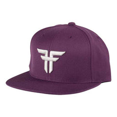 Fallen Trademark Starter Cap - Snapback - Black Plum/Cement Grey - Men's Hat