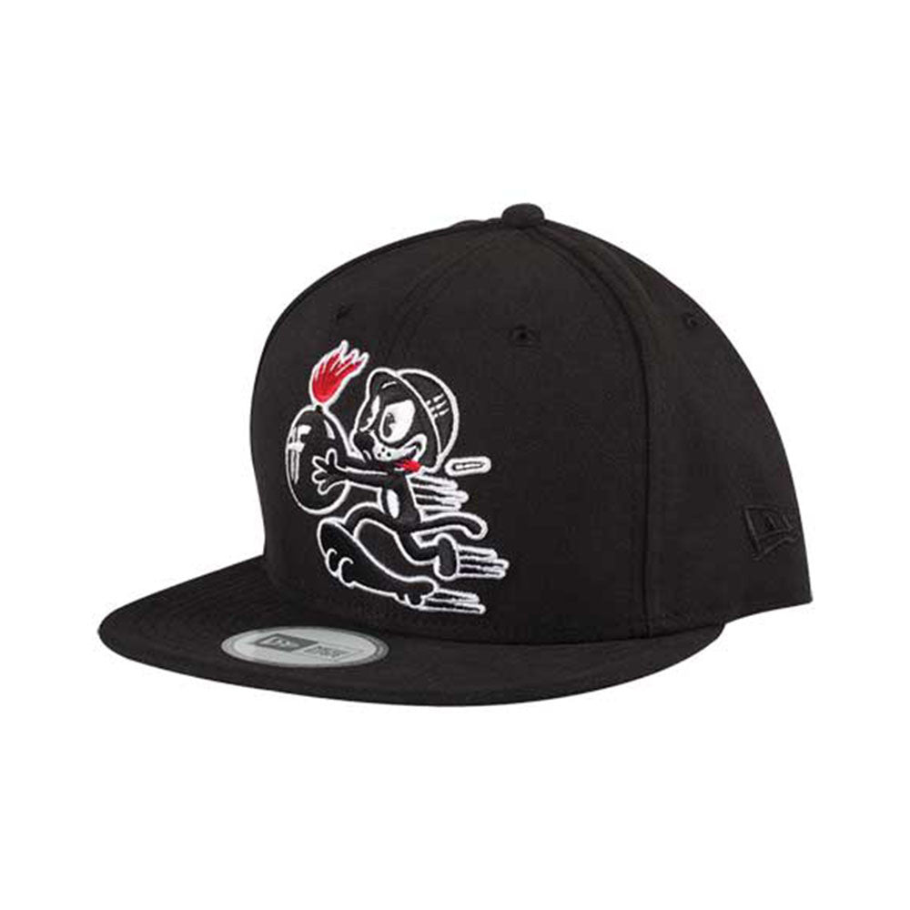Fallen Hellcat NE Snapback - Black/White - Men's Hat