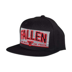Fallen Lockout II Snapback - Black/Blood Red - Men's Hat