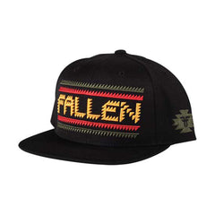 Fallen Las Cruces Snapback - Black/Rasta - Men's Hat