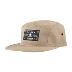 Fallen Deathproof 5 Panel Snapback - Khaki - Men's Hat