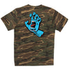 Santa Cruz Screaming Hand Regular S/S Mens T-Shirt - Camouflage Green