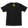 Santa Cruz Shatter Strip Regular S/S Mens T-Shirt - Black