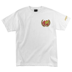 Santa Cruz 40th Guts Regular S/S Mens T-Shirt - White