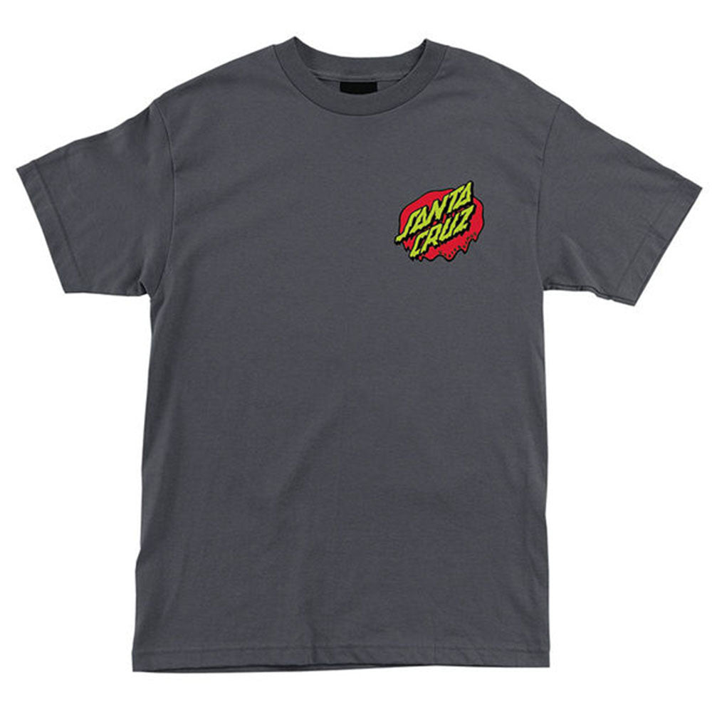 Santa Cruz Rob Hand Regular S/S - Charcoal - Men's T-Shirt