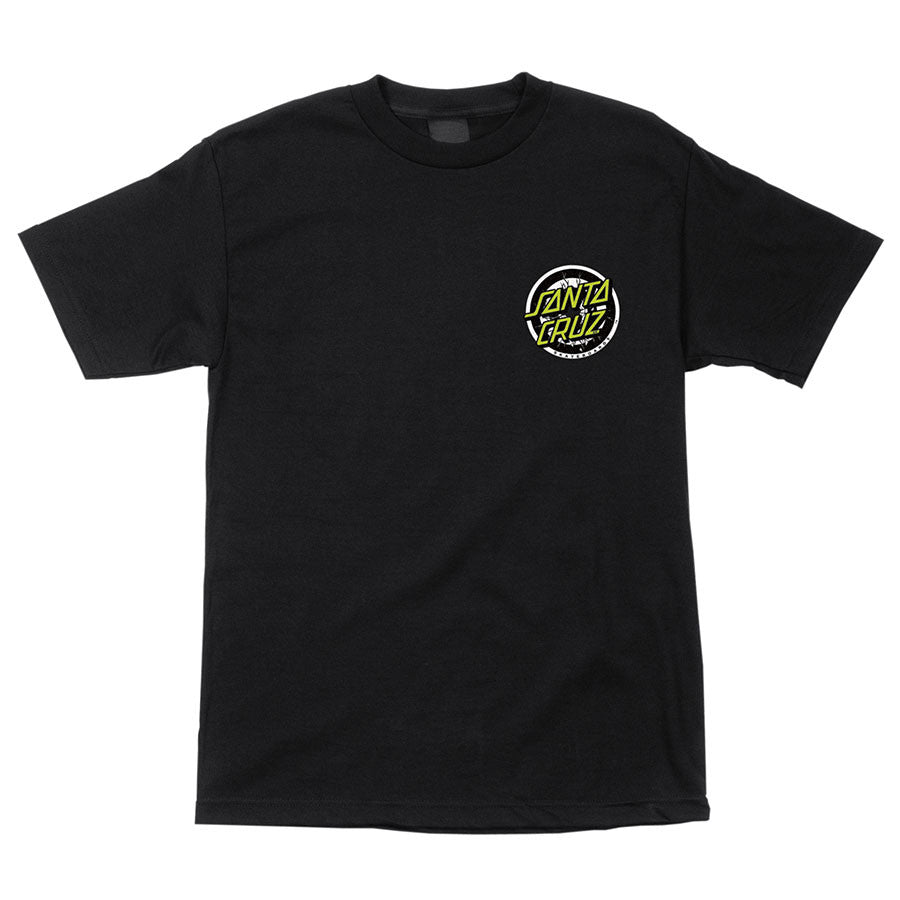 Santa Cruz Rob Smasher Regular S/S - Black - Men's T-Shirt