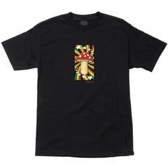 Flip Rasta Shroom Regular S/S Men's Shirt - Black