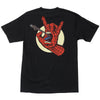 Santa Cruz Marvel Spiderman Hand Regular S/S Mens T-Shirt - Black