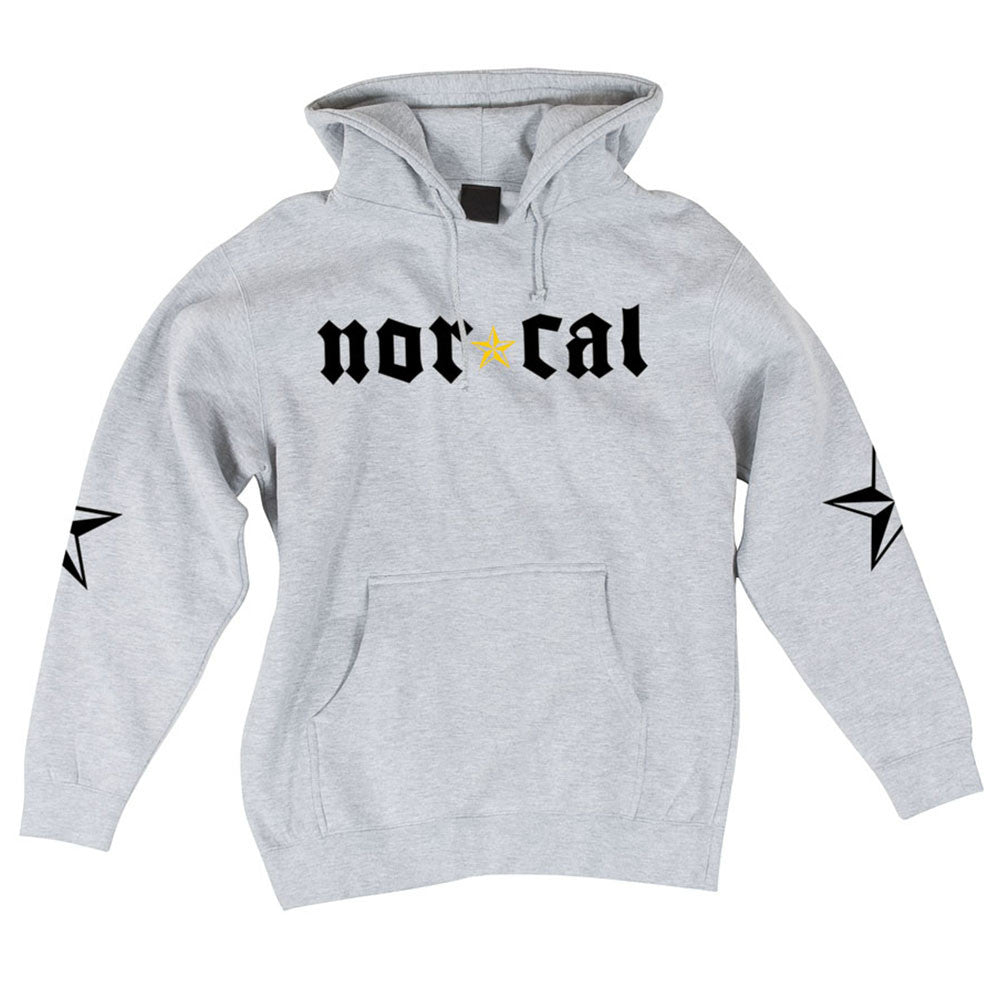 Nor Cal Medieval Pullover Hooded L/S - Grey Heather