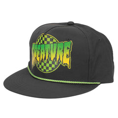Creature Go Home - Black - Adjustable Snapback - Men's Hat