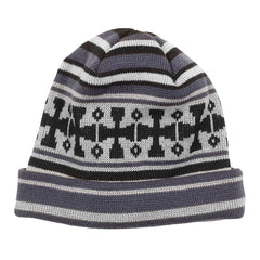 Independent Flake Long Shoreman - OS - Eclipse/Black/Grey - Men's Beanie