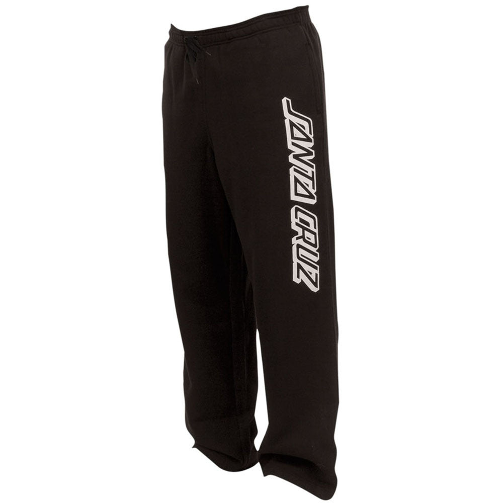 Santa Cruz Classic Strip Pull On Bottom Men's Sweatpants - Black