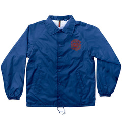 Independent Crusher Coach Windbreaker Men's Jacket - Royal Blue