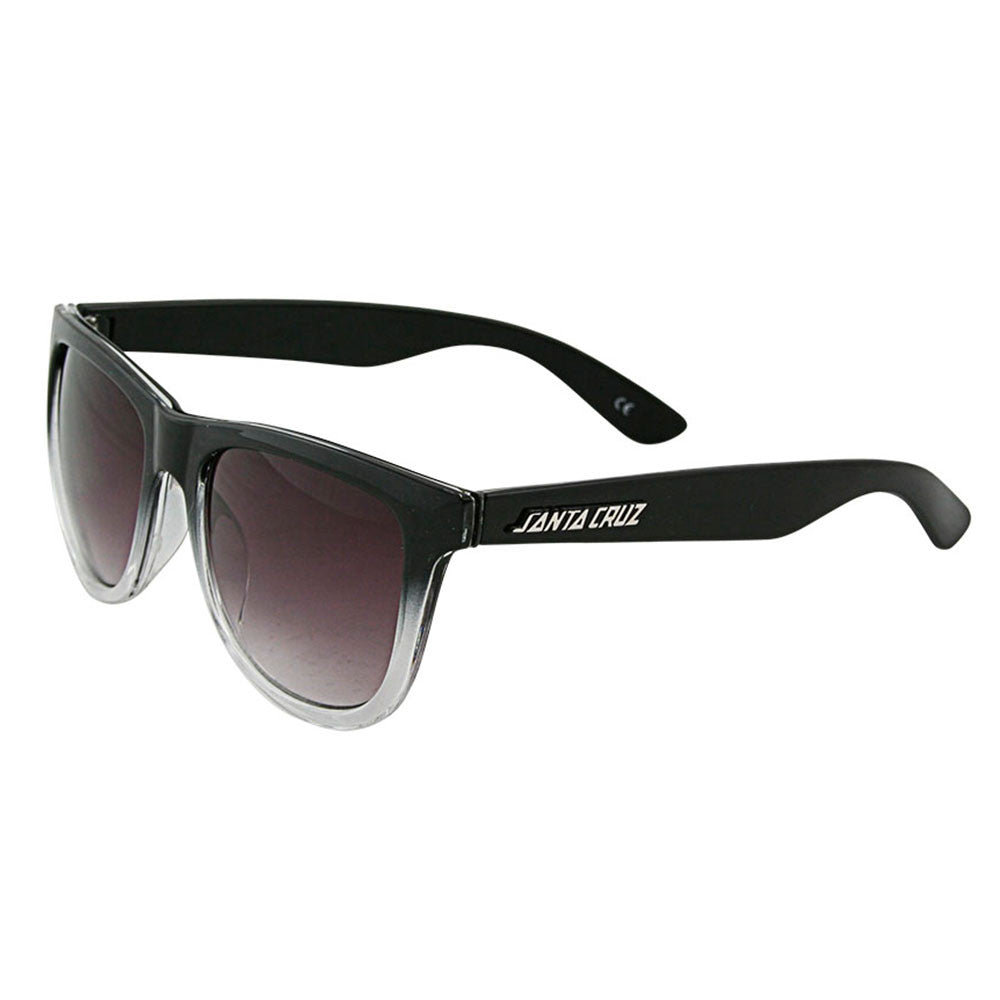 Santa Cruz Fifties O/S Sunglasses - Black/Clear