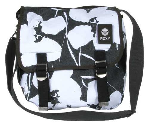 Roxy Pilgrimer Messenger Bag - Black