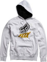 Fox Method Pullover Fleece - White - Mens Sweatshirt