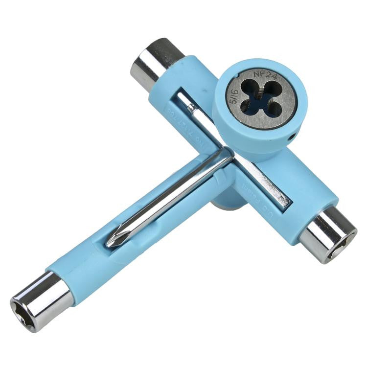Reflex Utilitool Skate Tool - Carolina Blue/Chrome