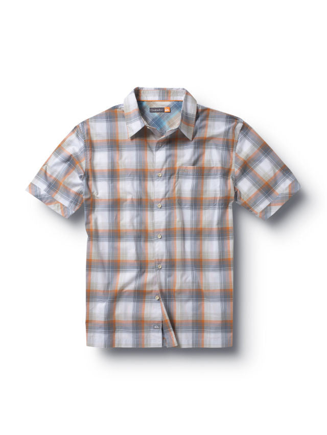 Quiksilver Runaways Cove Shirt - Orange - Mens T-Shirt