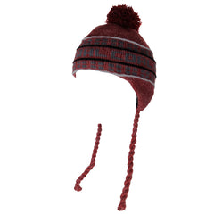 Coal Coal Flap - Red - Beanie