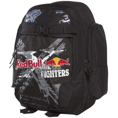 Fox Red Bull X-Fighters Backpack - Black