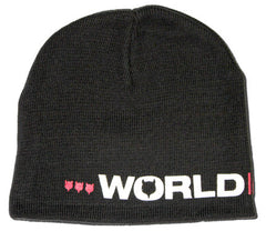 World Industries Logo Beanie - Black