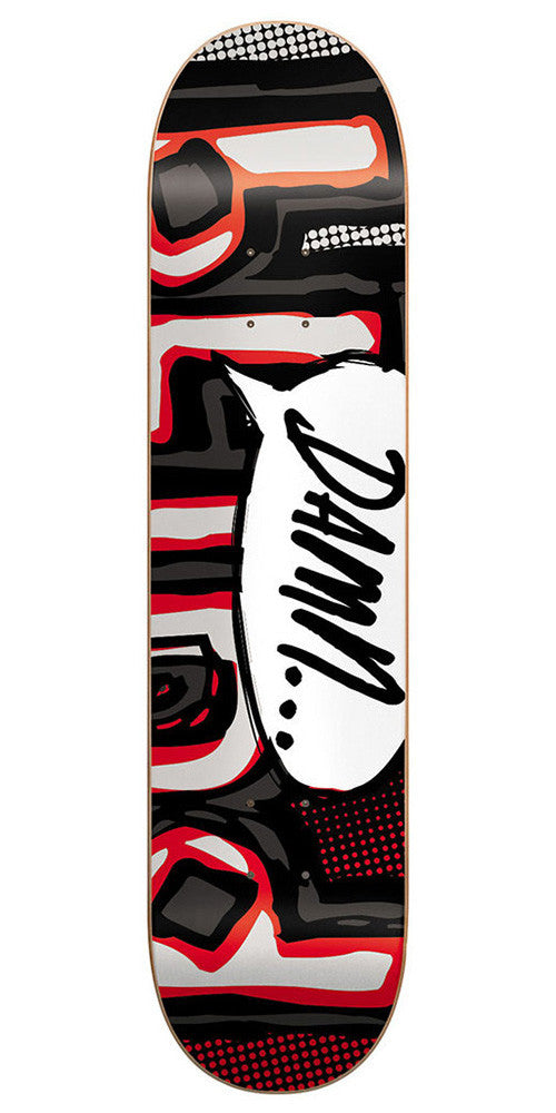 Blind OG Damn Bubble SS Skateboard Deck - 8.25 - Red/Black