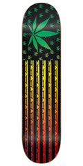 Blind High Roller SS Skateboard Deck - Rasta - 8.0
