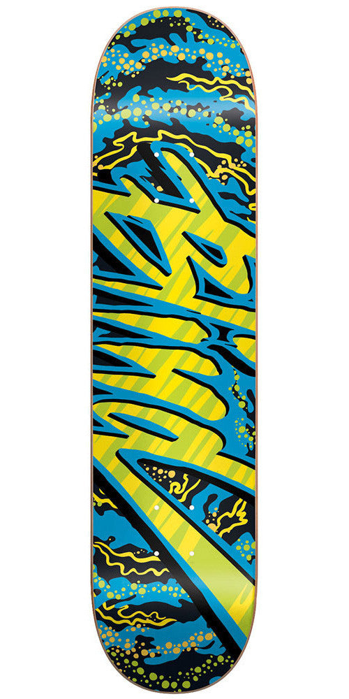 Blind Trip Out SS Skateboard Deck - Blue - 7.5