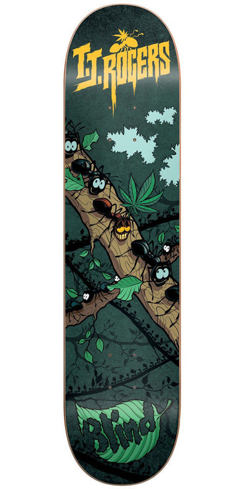 Blind TJ High Ant R7 Skateboard Deck - Green - 8.0in
