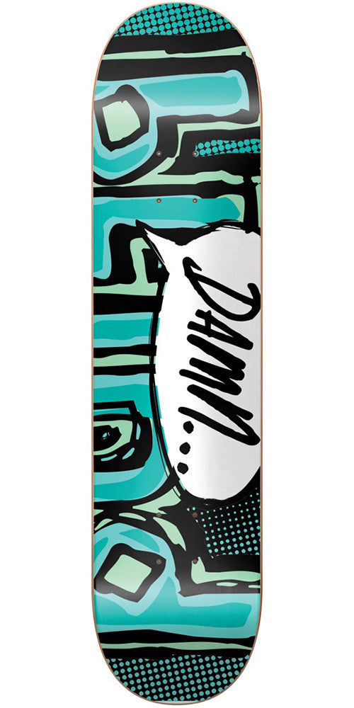 Blind OG Damn Bubble SS Skateboard Deck - Mint - 8.25in