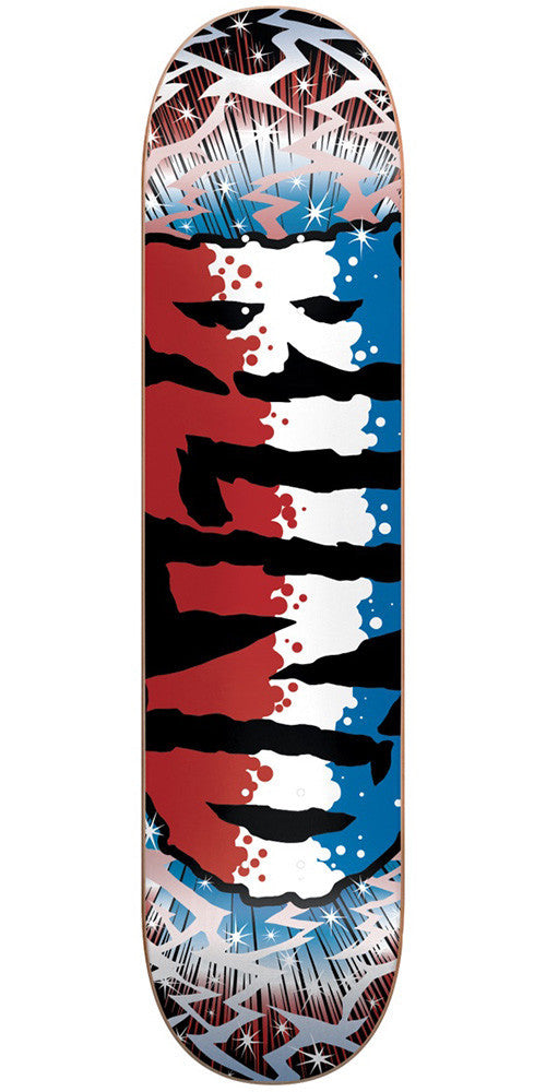 Blind Groovy SS Skateboard Deck - Red/White/Blue - 7.5in