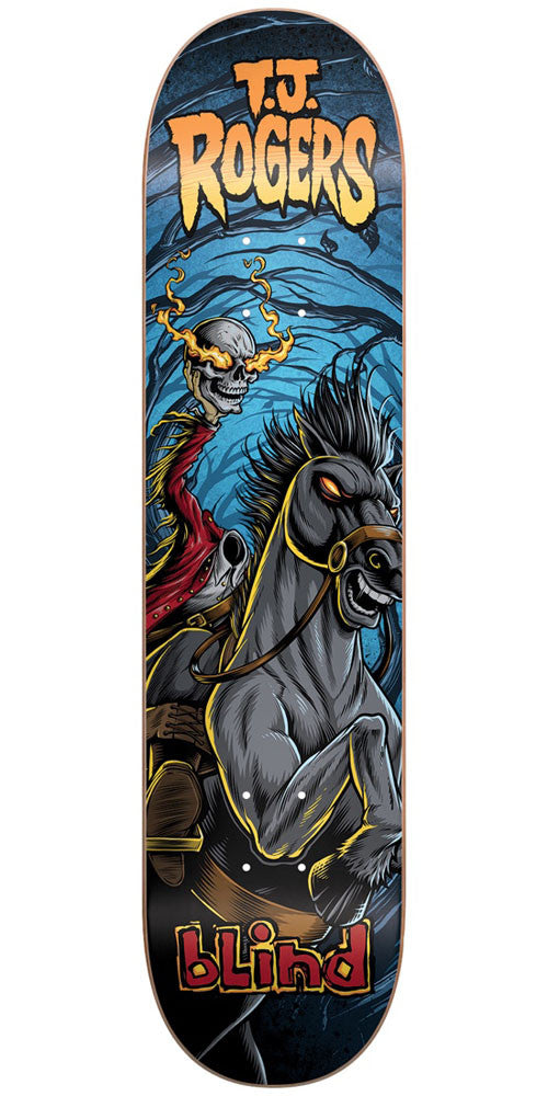 Blind TJ Rogers Fairy Tale Series R7 Skateboard Deck - Multi - 8.0in