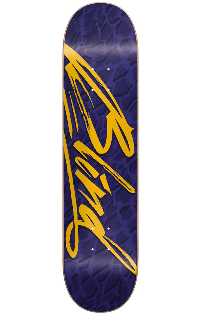 Blind Flight HYB Skateboard Deck - Blue/Gold - 8.0in