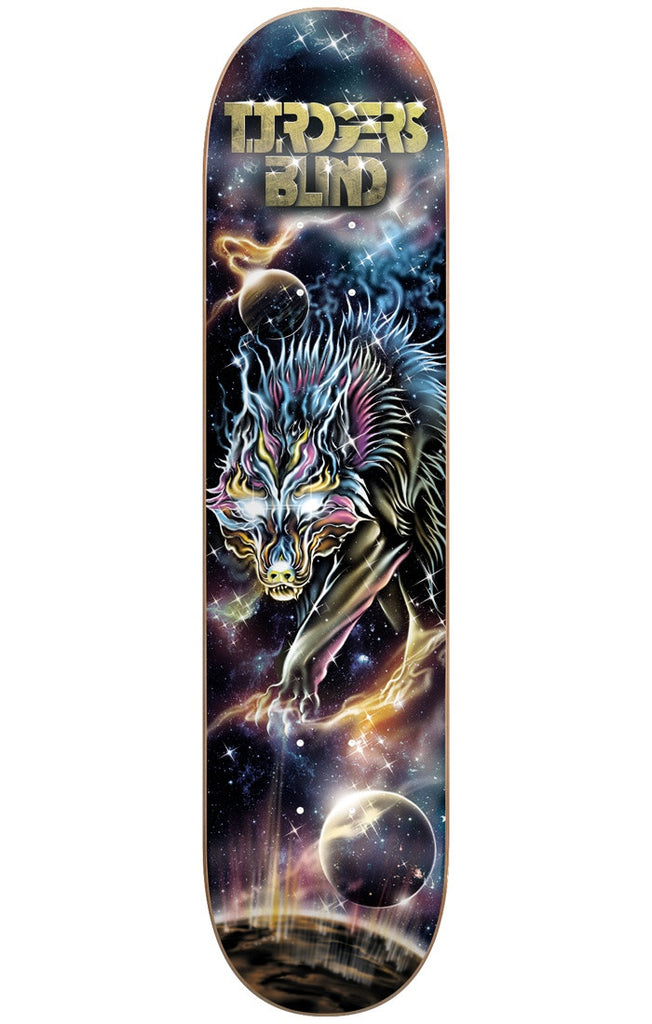 Blind TJ Rogers Cosmic Wolf R7 Skateboard Deck - Multi - 8.25in
