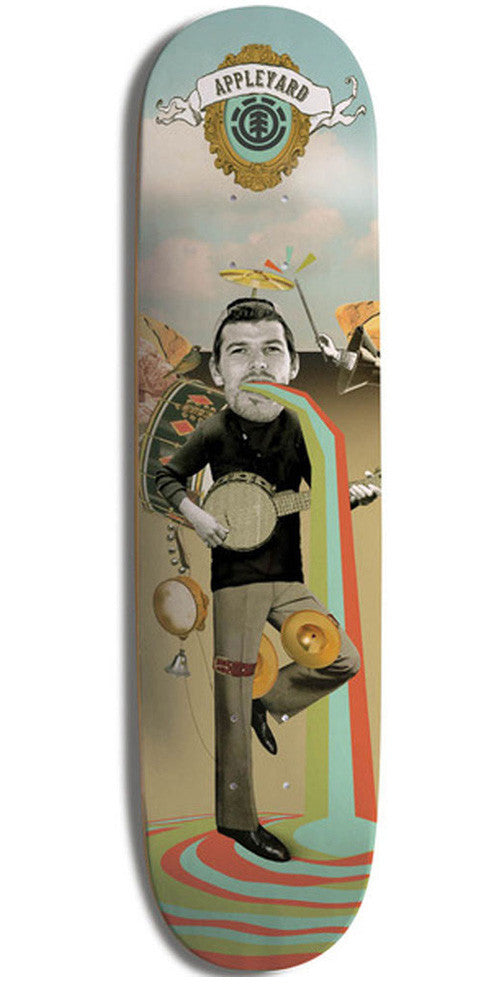 Element Appleyard One Man Band Skateboard Deck - Multi - 8.2