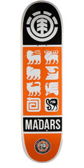 Element Madars Apse Ascend Skateboard Deck - Orange - 8.2