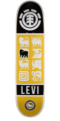 Element Levi Ascend Skateboard Deck - Yellow - 8.1
