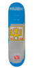 Alien Workshop Crockett Haring Series II Skateboard Deck - Blue - 8.125
