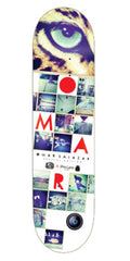 Alien Workshop Omar Salazar IPro Skateboard Deck - 8.0in x 31.5in - White