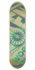 Alien Workshop Glyph Hex Mark Medium Skateboard Deck - Multi - 8.125