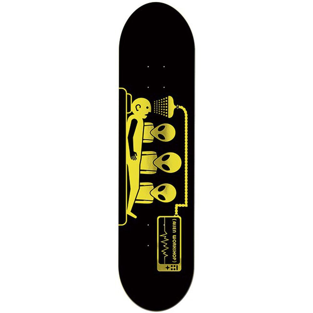 Alien Workshop Abduction Small Skateboard Deck - Black - 8.125