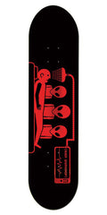 Alien Workshop Abduction Large Skateboard Deck - Black - 8.5