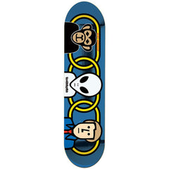 Alien Workshop Missing Link Small Skateboard Deck - Blue - 8.0