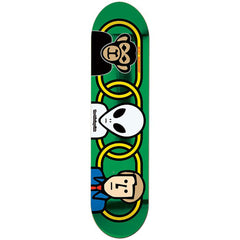 Alien Workshop Missing Link Large Skateboard Deck - Green - 8.375