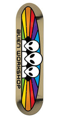 Alien Workshop Spectrum Large Skateboard Deck - Multi - 8.25